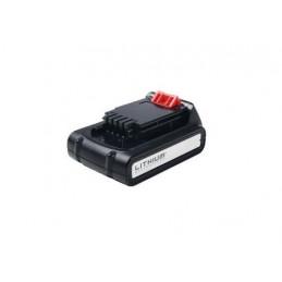 90604779 Batteria Litio 18V 2,0Ah BL2018 per tagliabordi tagliasiepi ventilatore trapano potatrice motosega soffiante Black &amp