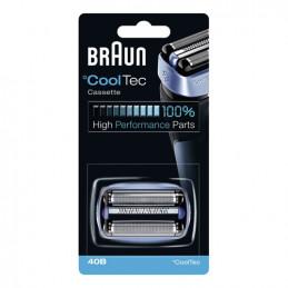 81626282 Gruppo radente lama coltello testina Braun 40B Blue - Blu Rasoio Serie CoolTec CT2 CT4