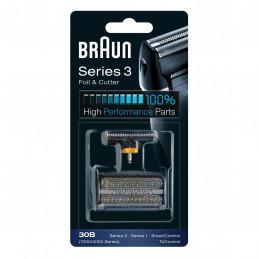 81626278 Gruppo radente lama coltello testina Braun Combi rasoio Smart Control Tri Control 7000/4000 serie 3 serie 1 30B Black -