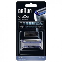 81387934 Gruppo radente lama coltello testina Braun Combi rasoio CruZer Silver - Grigio serie 2000 20S
