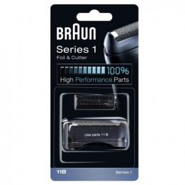 81626277 Gruppo radente lama coltello testina Braun Combi rasoio Serie 1 11B Black - Nero