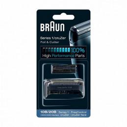 81695826 Gruppo radente lama coltello testina Braun Combi rasoio 10B/20B Black - Nero Serie 1 CruZer Face FreeControl