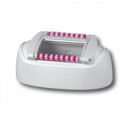 81341853 Cappuccio testina standard bianco e rosa per Silk Epil 5340 Braun