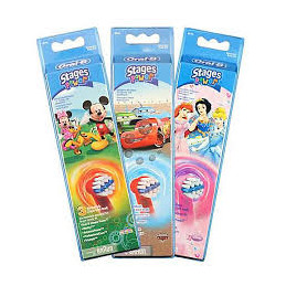 Oral B Testina di ricambio EB10-3 Kids per spazzolino elettrico ricaricabile conf. da 3pz