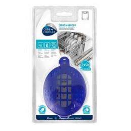35601775 Deodorante Fresh Essence per lavastoviglie con olio essenziale agli agrumi confezione da 2pz per 100 cicli totali Care