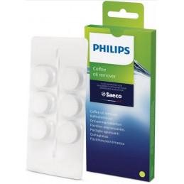 421944078291 Pastiglie sgrassanti confezione da 16, per macchine del caffè Saeco Philips