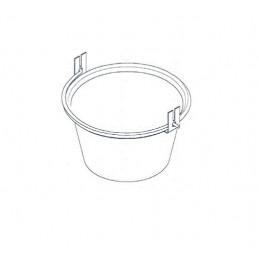 AA00043 Paiolo in rame per polenta spessore 0,8mm, diamentro 24, per AR2440, Ardes
